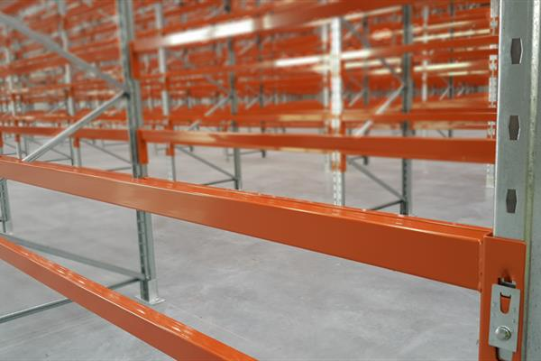 Push back pallet racking solutions work on a gravity feed