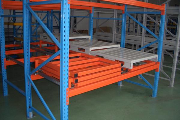 designing and installing push back pallet racking solutions