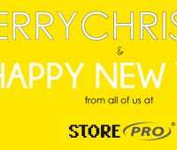 merry christmas and happy new year from all of us at storepro
